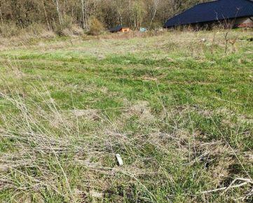 Stavebný pozemok v obci Teriakovce - 6 km od mesta Prešov