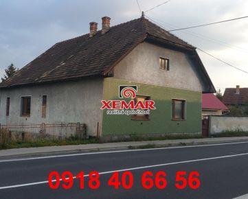 Na predaj rodinný dom v Dobrej Nive