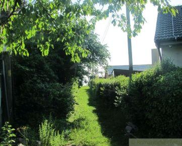 Záhrada vhodná na výstavbu rodinného domu v Záhorskej Bystrici na predaj