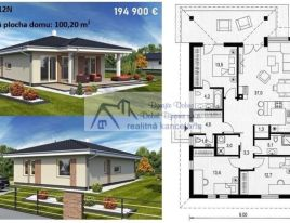Pozemok pre rodinné domy 780m2