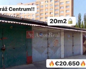 PREDAJ: Garáž, 20 m2, Žilina - CENTRUM