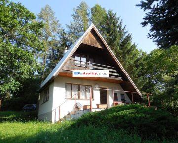 súkromie - výhľad – pri lese: CHATA, 2 iz., 73 m2, Podkylava – časť U Pagáčov, 55 000.-€ - www.BLREALITY.COM