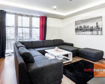 Ponúkame Vám na prenájom zariadený 3-i. byt s veľkou terasou