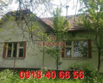 Na predaj dom v Krupine s 10a pozemkom