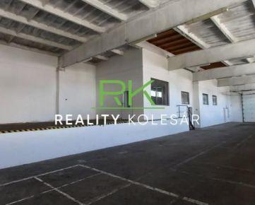 Reality Kolesár prenajíma skladový  priestor  360 m2 Južná trieda