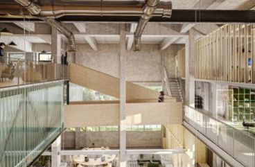 Administratívne priestory v industriálnej MLYNICI