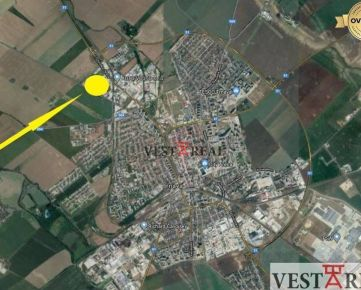 Na prenájom priemyselný pozemok, výmera 800 - 9000m2, Trnava
