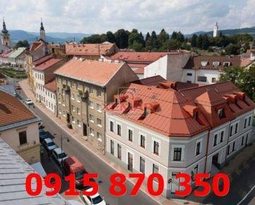 Na predaj nové 3 izbové byty v Rezidencii Horná v centre mesta Banská Bystrica