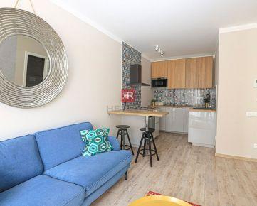 HERRYS - Na prenájom štýlový kompletne zariadený 2izbový byt s garážovým státím a pivnicou v novostavbe Pri Mýte