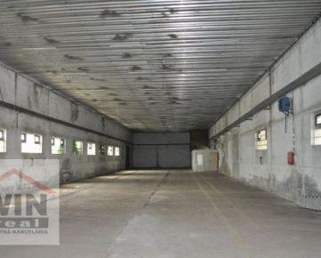 Na predaj budova skladu (960m2) v priemyselnej zóne, Zvolenská cesta