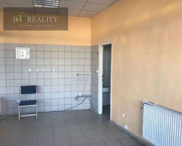 Na prenájom: komerčné priestory 18 m2, Trenčín, Hasičská, centrum