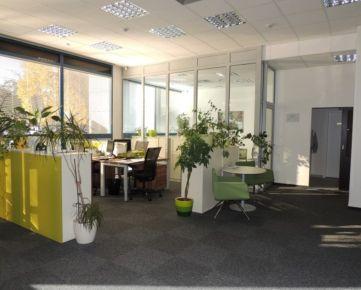 Prenájom komerčných kancelárskych - obchodných priestorov Petržalka, 236m2, s parkovacími miestami