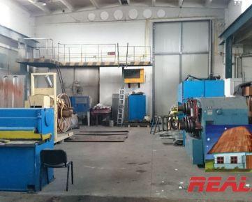 Hala 360m2 pre výrobu alebo sklad