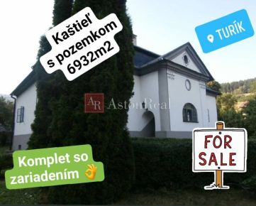 Kaštieľ v obci Turík na Liptove, 6932 m2