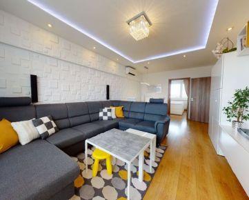 VIRTUÁLNA PREHLIADKA! Exkluzívne-Predaj-krásny 3izb byt s balkónom-Hospodárska ul.