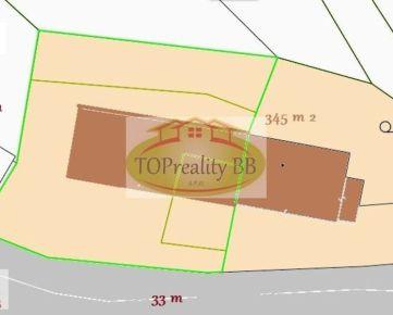 Chalupa  s pozemkom 350 m 2,  16 km od Banskej Bystrice – cena 53 000€
