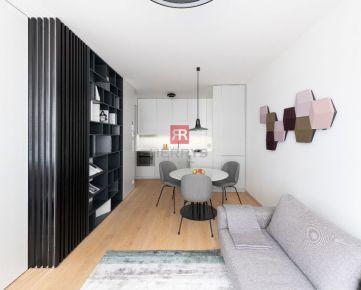 HERRYS - Na prenájom moderný, architektmi zariadený 2 izbový byt v projekte Zuckermandel