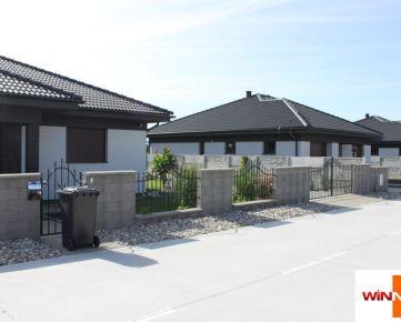 Novostavby  v novovybudovanej ulici v obci Čečínska Potôň 3 – 4 izbové bungalovy