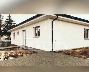 NOVOSTAVBA - BUNGALOV, 4 IZBOVÝ, 2XKÚPEĽŇA, TERASA, 581 m2, DOKONČENIE 11/2020, CENA: 185 900,00 EUR