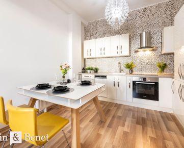 Arvin & Benet | Tehlová novostavba 3i bytu v Ružinove