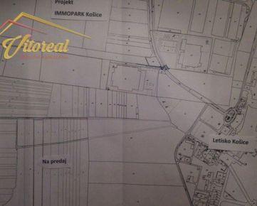 Ponúkam na predaj pozemok - ornú pôdu pri letisku v Košiciach