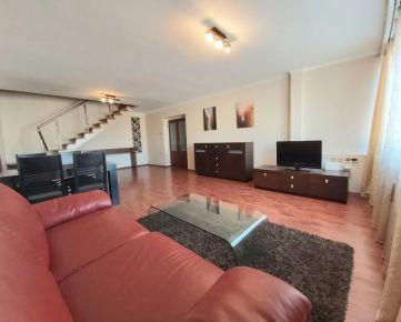 NA PRENÁJOM:Veľký, 4 izbový mezonetový byt o rozlohe domu priamo v centre mesta s troma balkónmi a parkovacím miestom!!!