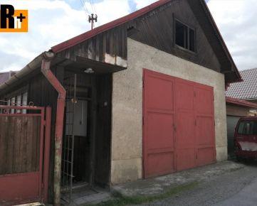 Rodinný dom Žilina - Považský Chlmec - dielňa na predaj