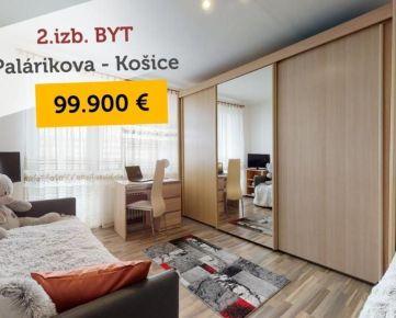 PREDAJ: 2.izb. byt - Košice - Centrum - Palárikova