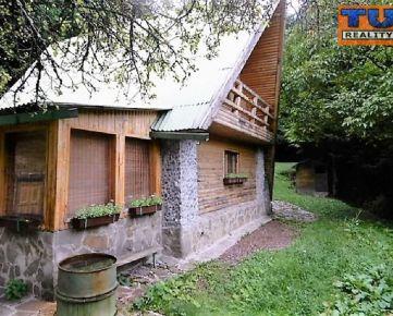 NA PREDAJ!!! KOMPLETNE ZARIADENÁ POSCHODOVÁ CHATA, rekreačná oblasť Drienica - LYSÁ, okres Sabinov na pozemku o výmere 750m2, CENA: 62 000 €