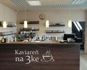 NA PREDAJ/ODSTÚPENIE: kaviareň v centre Trnavy