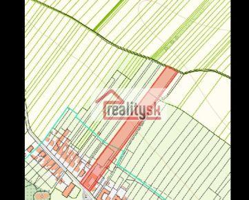 Predám lukratívne viacúčelové pozemky v strede obce Borová okr. TT