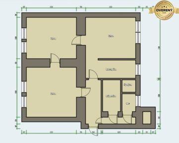 Martin VRÚTKY veľkometrážny 3 izb. byt,101m2