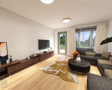 POZRITE si 3D – obhliadku 4 izb. MEZONETU s  TERASOU, BA-Ružinov, Papraďová ul. garáž, balkón,terasa