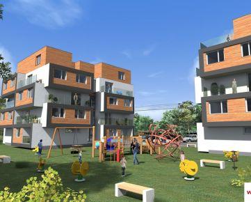 Rezidencia ŠALGOVIA - moderné 1 - izbové byty s loggiou / balkónom a pivnicou