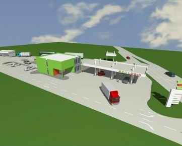 Predáme projekt na výstavbu čerpacej stanice