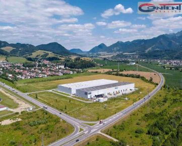 Prenájom skladových priestorov 10.498 m2, Žilina