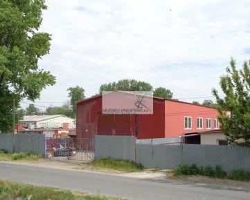 Predaj priemyselného areálu v Devínskej n. Vsi