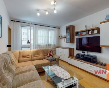 Exkluzívne na predaj 3-izbový byt, čiastočná rekonštrukcia, 66,4 m2, Žitavská  ulica, Bratislava-Vrakuňa
