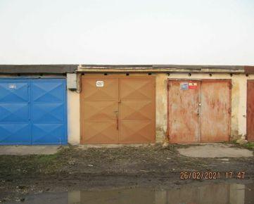 Na predaj garáž Čárskeho, vysporiadaný pozemok, elektrina