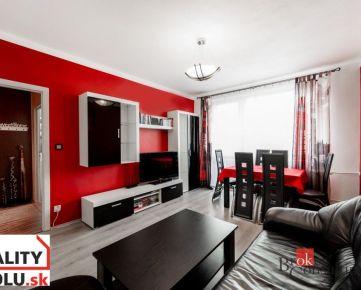 REZERVOVANÉ! 3 izbový byt, Dargovských hrdinov, Košice - Furča s krásnym výhľadom a loggiou
