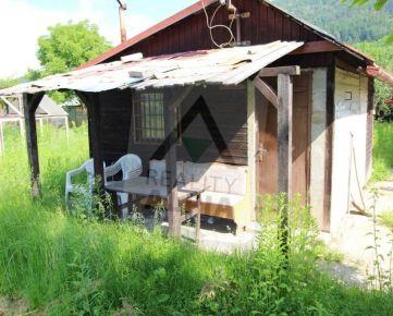 Chatka zo záhradou / 968 m2 / Žilina - Horevažie