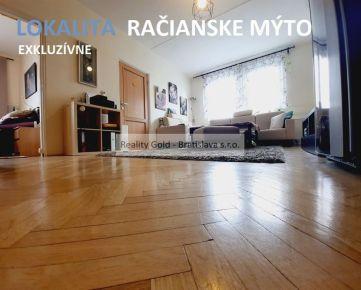 3 izbový RAČIANSKA - lokalita Račianske Mýto + BALKÓN , rekonštrukcia