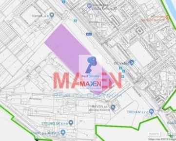 Predaj: *MAXEN*, Investičný pozemok 78 926 m2, Košice IV - sídl. Nad jazerom