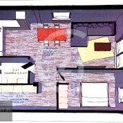 2-izb. byt 58m2, novostavba
