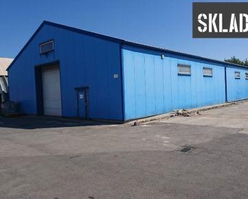 Prenájom skladu 500m² v Bratislave-Rača/ Warehouse for rent 500 sq m Bratislava- Rača