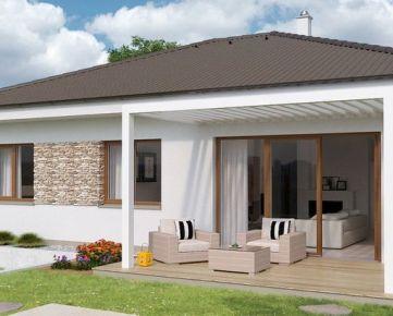 Bungalov NOVOSTAVBA - O 110, 4 izbový rodinný dom 110 m2  KOLAUDÁCIA 4Q/2020 , Senec, Južná Brána