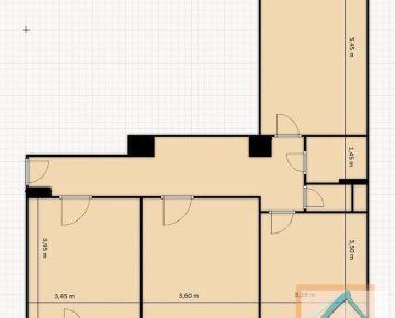 3 izb. byt, BUDOVATEĽSKÁ ul., zrekonštruovaný podľa Vašich predstáv