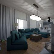 3-izb. byt 88m2, vo výstavbe