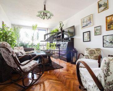 Zrekonštruovaný byt s 3 nepriechodnými izbami