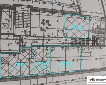 AARK: Klimatizované kancelárske priestory - 26 m2, Hospodárska, Trnava